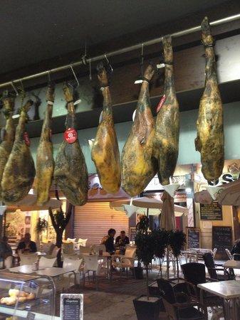 Baldo : Ham legs for wafer thin slicing.