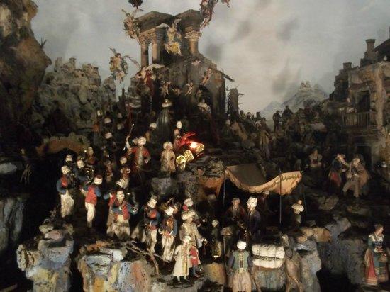 Certosa e Museo di San Martino Napoli: Un presepe