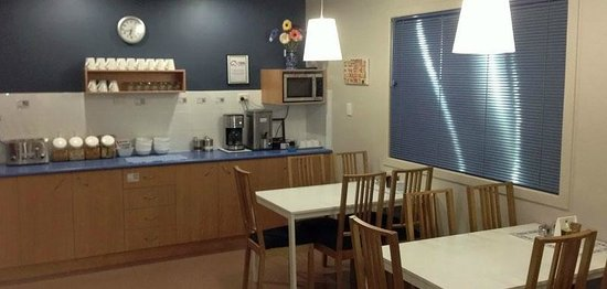 City Motor Inn Toowoomba: Breakfast Room