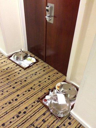 Φαγητά στο διάδρομο
