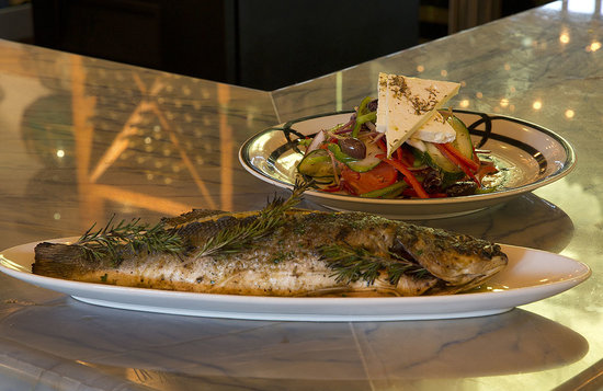 Jimmy's Taverna: Whole Grilled Fish and Horitaki