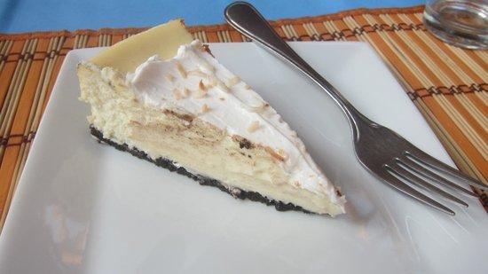 Shirvan Watermill Restaurant: Delicious Coconut Cheesecake!