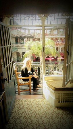The Mission Inn Hotel and Spa : Balcony