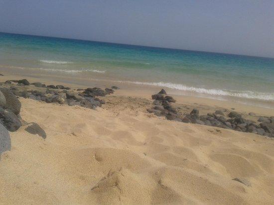 Fuerteventura Princess: Beach in front of hotel