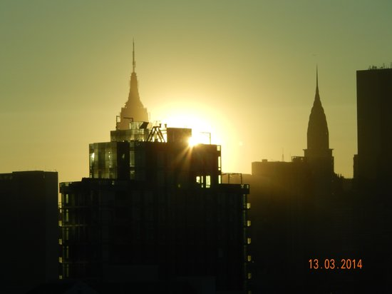 Holiday Inn L.I. City - Manhattan View : Ausblick