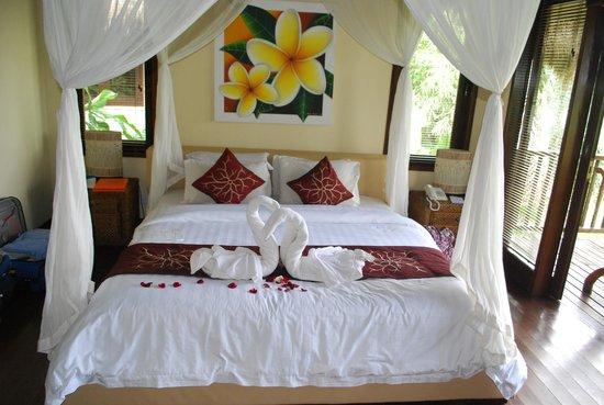 Nandini Bali Jungle Resort & Spa : Deluxe room at Nandini Resort