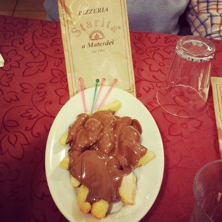 Pizzeria Starita a Materdei : angioletti alla nutella.. così buoni che abbiamo fatto il bis!