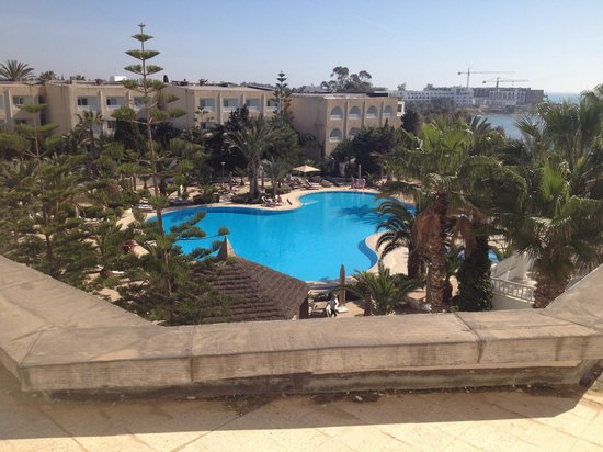 SENTIDO Aziza Beach Golf & Spa: Pool view