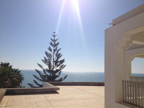 SENTIDO Aziza Beach Golf & Spa: Sea view from balcony