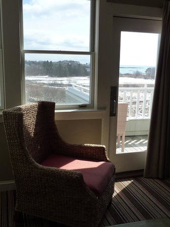 Inn by the Sea : View from garden suite 212
