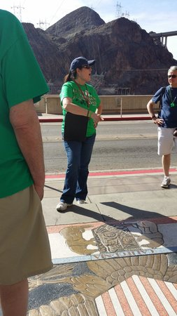 Comedy on Deck Tours: Our tour guide Jodi