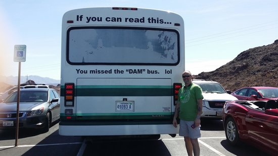 Comedy on Deck Tours: Don't miss the Dam bus!