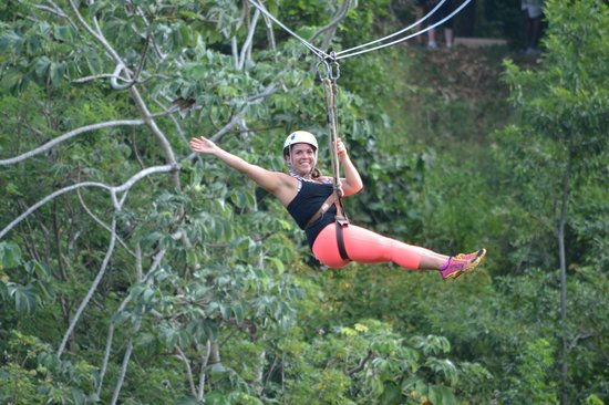Pirates of the Caribbean Canopy Tour: ziplining in Honduras!