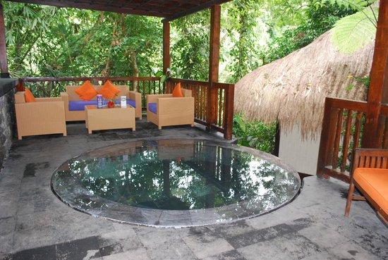 Nandini Bali Jungle Resort & Spa: Spa area of Nandini Resort