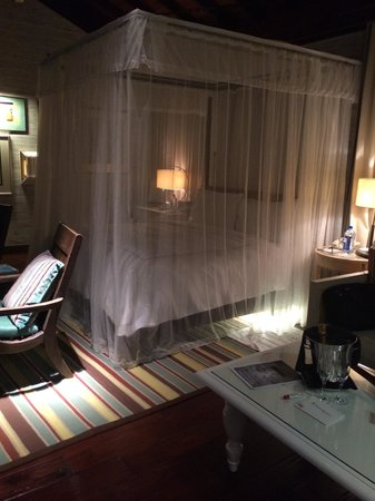Four Seasons Resort Seychelles: 最終日の夜