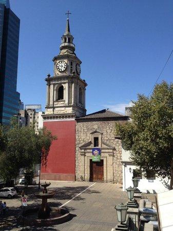Hotel Plaza San Francisco: Iglesia San Francisco from our terrace