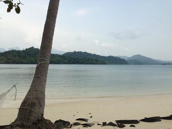Parama Koh Chang Resort: Beach, you have to take a boat to here