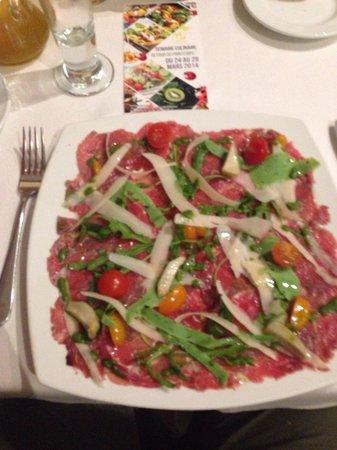 Restaurant La Bavaroise: Carpaccio