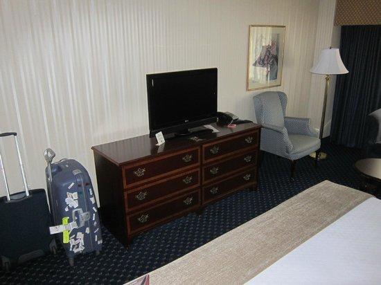 Crowne Plaza Hotel Nashua: 401 LCD widescreen TV