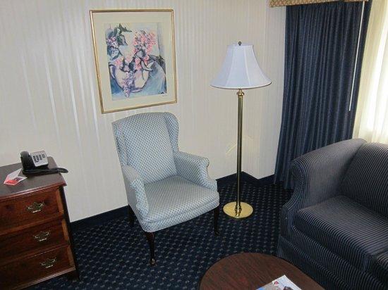 Crowne Plaza Hotel Nashua: 401 sitting corner