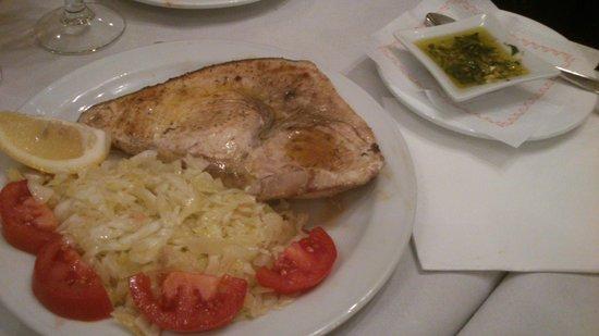 Taberna Salinas: pez espada
