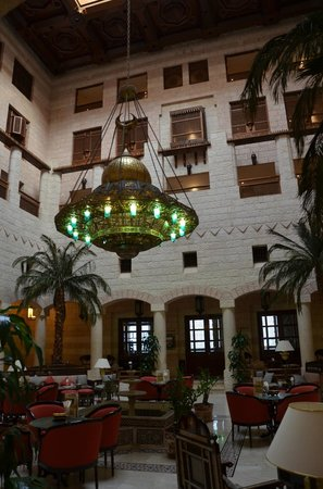 Movenpick Resort Petra: Lounge for drinks or coffee