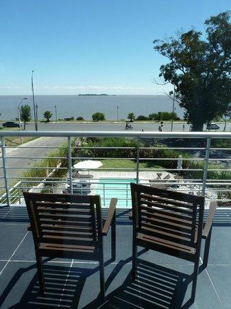 Costa Colonia Riverside Boutique Hotel : Vista al río desde la habitación