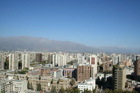 Colline Santa Lucia de Santiago : view from the top
