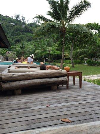 Four Seasons Resort Seychelles: みんなくつろいでます