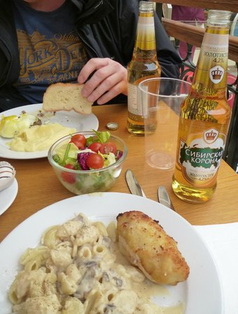 Stolovaya 57: Our lunch