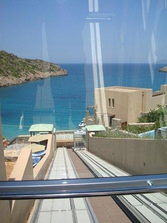 Daios Cove Luxury Resort & Villas: Sea view