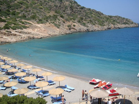 Daios Cove Luxury Resort & Villas: Sea View