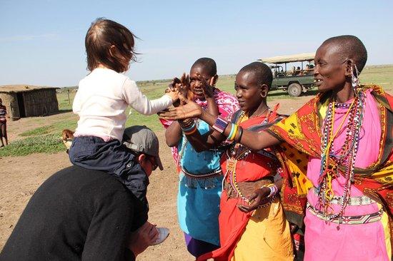 Encounter Mara, Asilia Africa : Visite du village massai voisin