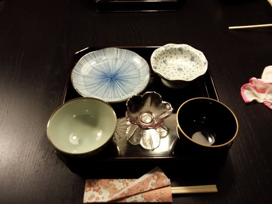 Plate Setting And Origami Chopstick Holder That Ayuko Taught Us To