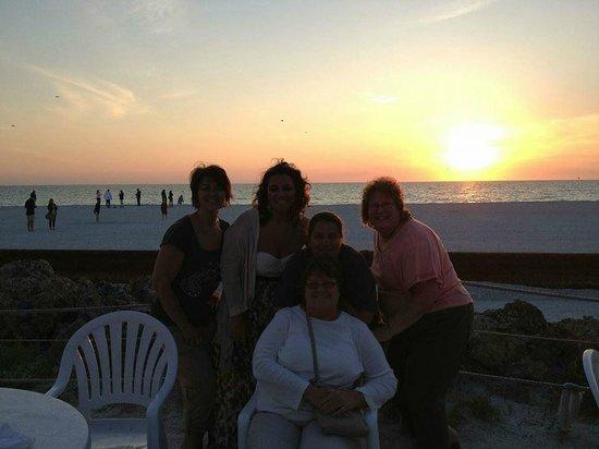 Beach House Restaurant: Dinner at Sunset