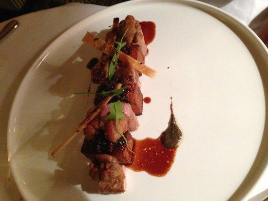 Le Restaurant : Plat: L agneau