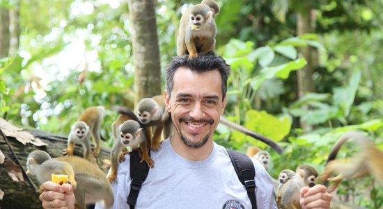 Hotel Pirarucú : Isla de los micos