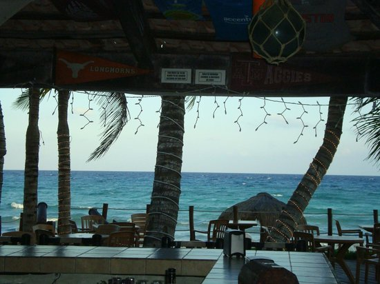 Petit Lafitte: view from bar
