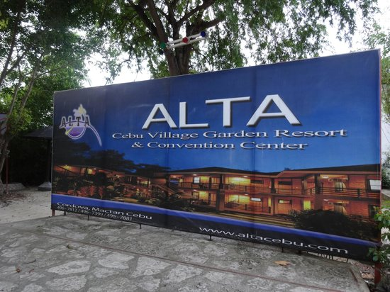 ALTA Cebu Resort : Greetings to the Resort
