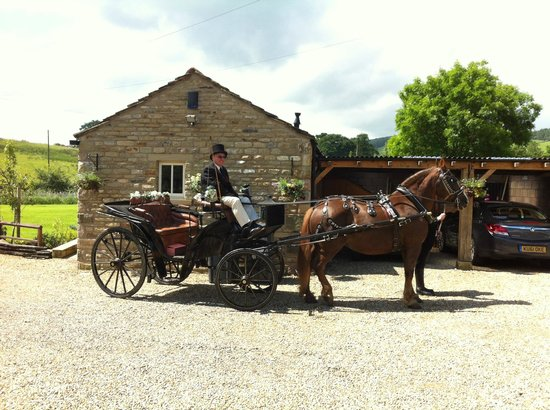 Dam Head Barn: A Guest setting off to be married