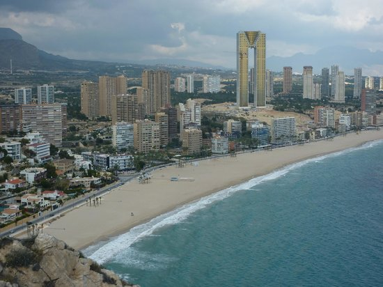 Playa de Poniente: Less built up than Levante Beach are - yes, really!