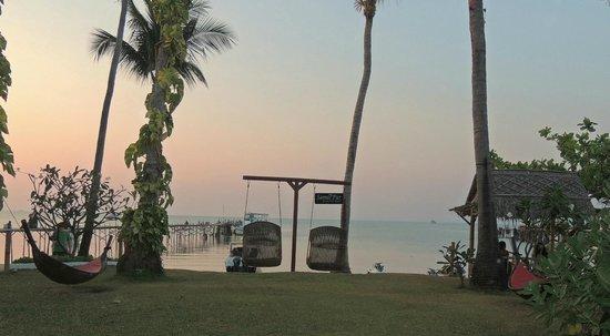 Samui Pier Resort : Jardin hotel