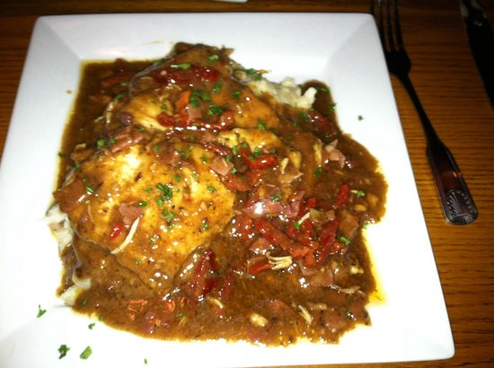 Millhouse Steakhouse: Chicken Saltimbocca (very good)