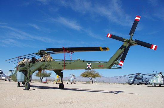 Pima Air & Space Museum : 68-18437 Sikorsky CH-54