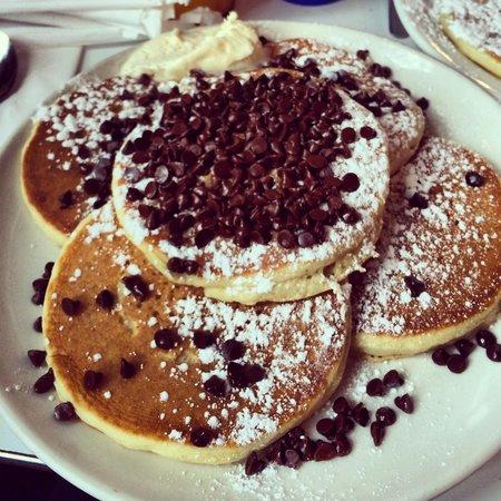 Cornmeal Pancakes With Ham Recipe — Dishmaps
