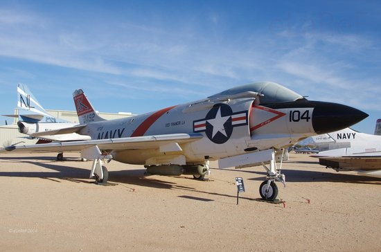 Pima Air & Space Museum : 145221 McDonnell F-3B Demon
