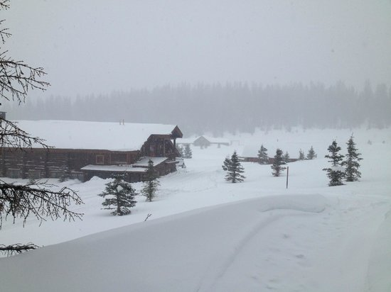 Brooks Lake Lodge and Spa: View from our Cabin