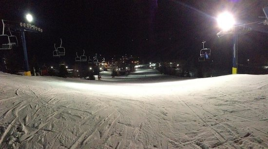 Alpine Valley Resort: Night ski