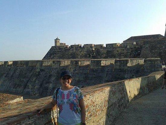 Château de San Felipe de Barajas : Castelo!