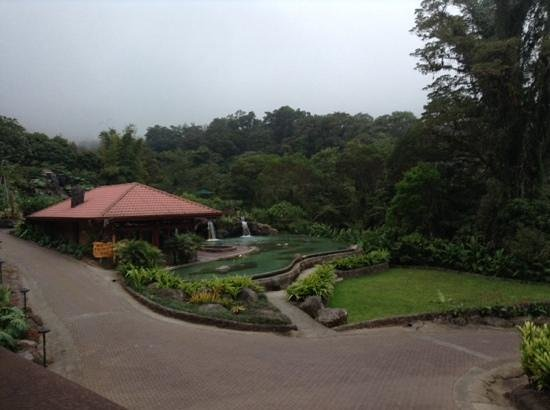 Peace Lodge: view from Villa Lago